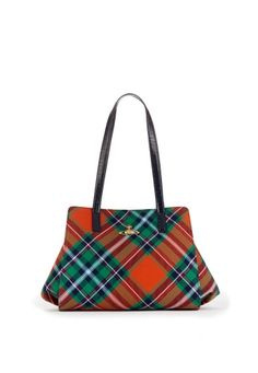 Discover women's designer clothing, shoes, bags and accessories by Vivienne Westwood. Famous Faces, Vivienne Westwood, Tartan, Women's Accessories, Gym Bag, Range, Treats, Tote Bag, My Style