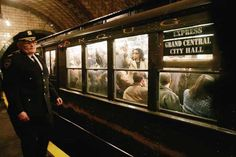 Spend a day aimlessly riding the subway in NYC.