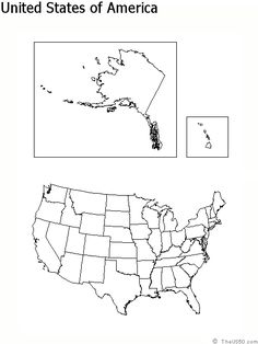 Blank Printable Map Of The Us Clipart Best Clipart Best | Centers ...