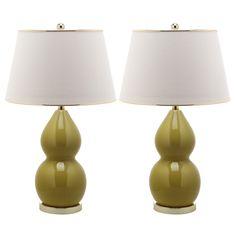 Ceramic Lamp Ochre