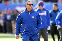 Bet that deposed Giants coach won't be last to be fired. Usa Today Sports, Nfl Fans, Line, Nike Jacket, Hot, Jackets, News, Awesome, Fashion