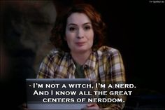 I'm not a witch. I'm a nerd ~ Charlie  Bradbury #SPN 10x21 Dark Dynasty Supernatural - TV Quotes #Charlie