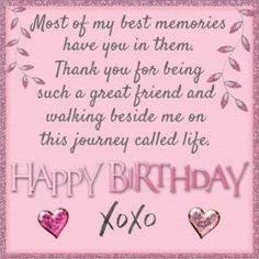 Are you looking for inspiration for happy birthday friendship?Check out the post right here for unique happy birthday inspiration.May the this special day bring you happiness. Happy Birthday Best Friend Quotes, Birthday Qoutes, Happy Birthday For Her, Happy Birthday Wishes Cards, Birthday Quotes For Best Friend, Happy Birthday Beautiful Friend, Friendship Birthday Quotes, Happy Birthday Special Friend, Happy Birthday Wishes Bestfriend