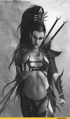 Beckjann.deviantart.com,warhammer 40000,фэндомы,dark eldar,wych