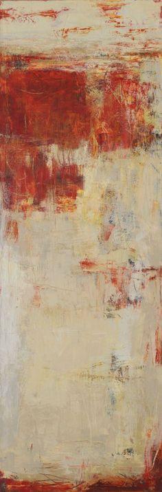 Cliffhanger, Martha Rea Baker, cold wax