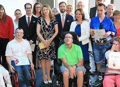 Princess Stephanie and Guillaume visited Kräizbierg Foundation