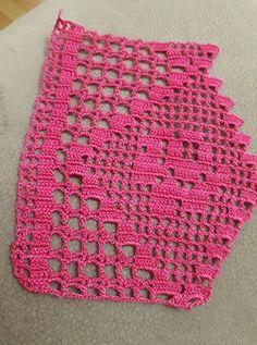 Crochet lace rose pattern New ideas Crochet Blanket Edging, Crochet Edging Patterns, C2c Crochet, Crochet Quilt, Crochet Borders, Basic Crochet Stitches, Crochet Round, Crochet Chart, Crochet Squares