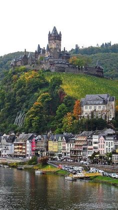 Reichsburg Castle | Cochem, Rhineland-Palatinate, Germany