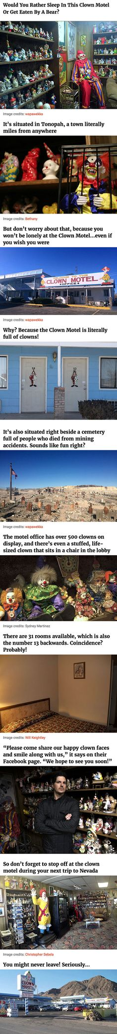 Real Clown Motel.