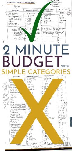 When you struggle with sticking to a budget, using simple budget categories are a life saver. This easy guide will help you finally win at budgeting. Budgeting Process, Budgeting Finances, Budgeting Tips, Living On A Budget, Family Budget, Spending Tracker, Make Money Fast, Earn Money, Managing Your Money