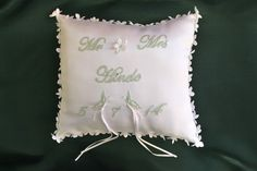 Sarah Elizabeth, Bed Pillows, Handmade, Pillows, Craft, Arm Work, Hand Made