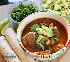 Pressure cooker posole... I just might have to try this for the holidays - sans the enchilada sauce but with my own red chile sauce :)