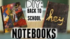 Learn how to DIY these awesome notebooks!