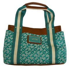 Tommy Hilfiger Womens Handbag Medium Iconic Teal *** Read more reviews of the product by visiting the link on the image.