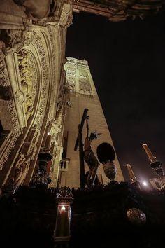 La Madrugada en el interior de la Catedral, por Serrano