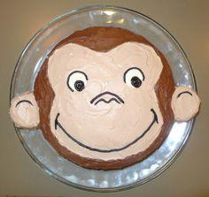 P1080207 e1378006805979 300x284 How To Make A Curious George Birthday Cake