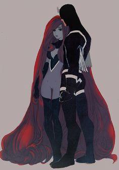Medusa and Blackbolt