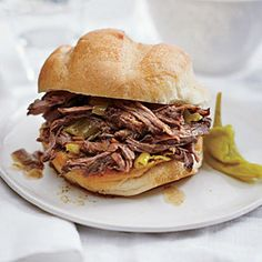 Tangy Italian Beef Sandwiches Recipe - Cooking Light