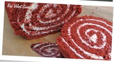 Red velvet swiss roll - Baking with the Pink Whisk Giant Cupcake Recipes, Giant Cupcake Cakes, Large Cupcake, Red Velvet, Velvet Cake, Chocolate Giant Cupcake, Chocolate Frosting, Chocolate Covered, White Chocolate