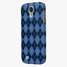 Awesome! This Navy Blue Argyle Galaxy S4 Cases is completely customizable and ready to be personalized or purchased as is. It's a perfect gift for you or your friends.