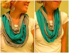 Time Out for Women - {DIY} Infinity Scarf