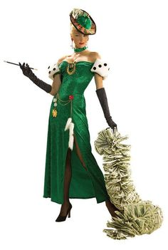 Lady Luck Casino Costume.    If your having a Casino/Vegas party then you got to look good!!     Give this Lady Luck costume a try & look your best on your night of nights.