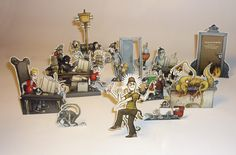 quirky dioramas | Here is a nice and unusual diorama from a German adult comics magazine ...