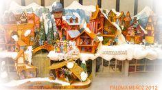 Maqueta de Cortylandia: Fantasía de Navidad. Model of Cortylanda: Christmas fantasy