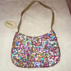 Cute Sequin Handbag Cute Sequin Handbag With Inside Zipper Compartment Gorgeous Bags Shoulder Bags