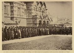 Representatives of rural provinces at the coronation of Nicholas II, Emperor of Russia Emperor, Russia