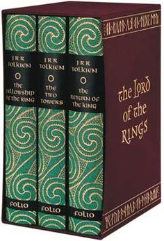 The Lord of the Rings books boxed set