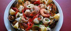 Hands down favorite restaurant. Best Dining, Minneapolis, Paella, Pasta Salad, Restaurants, Menu, Hands, Spaces, Ethnic Recipes