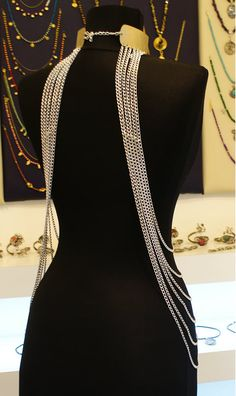 Body Chain Goddess Jewelry Body Chain by TheFourLeafCloverS, $95.00