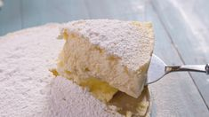GF Cheesecake Gluten Free 5 Large eggs, separated 1 block cream cheese, softened 1 can sweetened condensed milk Powdered sugar, for serving (optional) DIRECTIONS Preheat oven to 3 Ingredient Cheesecake, Easy Cheesecake Recipes, Dessert Recipes, Homemade Cheesecake, Gluten Free Desserts, Easy Desserts, Delicious Desserts, Sweet Recipes, Cupcake Cakes