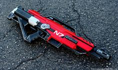 Mass Effect Nerf remake