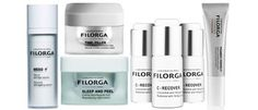 With more than 30 years of breakthrough anti-aging products, Filorga is a must- have for high-performance skin care. Try the Sleep and Peel to revitalize skin overnight, or the Meso+ Absolute Wrinkle Serum for the full benefits of the best anti-aging ingredients. Both are included in this luxe seven-piece bundle!