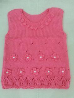 Gül kurusu bebek elbisesi
