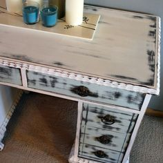 Honderich 1930'S Re-Finished Writing Desk