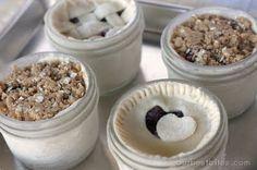 Single Serving Pies in a Mason Jar - Recipe