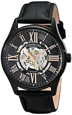 Stuhrling Original Men's 747.03 Atrium Automatic Skeleton Black Watch Stuhrling Original http://www.amazon.com/dp/B00HN9AY9S/ref=cm_sw_r_pi_dp_57bNub11J3571