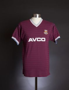 West Ham United 1986 shirt