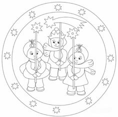 MANDALES NADAL 3 - Petitmón Recursos - Álbumes web de Picasa Christmas Coloring Pages, Coloring Pages For Kids, Adult Coloring, Coloring Books, Abc Activities, Christmas Activities, Christmas Printables, Christmas Colors, Christmas Themes