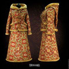 Верхняя одежда ручной работы. Ярмарка Мастеров - ручная работа. Купить Комплект куртка и юбка. Handmade. Комбинированный, пейсли