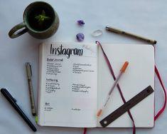 Instagram hashtag tracker for bullet journal bujo