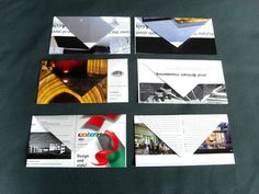 color envelopes made from an architecture magazine upcycled and eco friendly. I could do this. You, too!