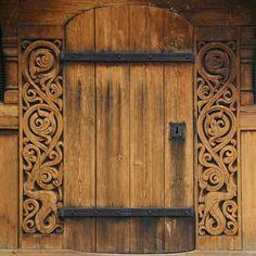 Old Norwegian door