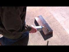 Suji (or Craftsman) Charred Wood Technique