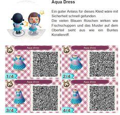 Aqua Dress by Hanne