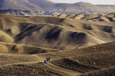 Bamiyan, Afghanistan;  how do you survive in this landscape?