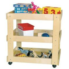 Wood Designs Utility Cart at School Outfitters School Furniture, Kids Furniture, Urban Furniture, Classroom Furniture, Office Furniture, Cubbies, Shelves, Tidy Books, Diy Magazine Holder